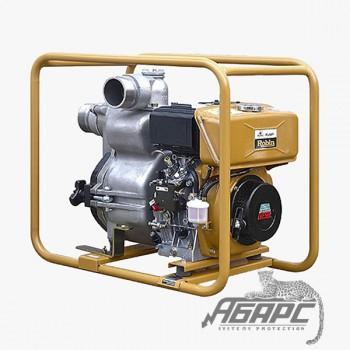 Дизельная мотопомпа Robin-Subaru PTD 306 T для сильнозагрязненной воды с твердыми частицами