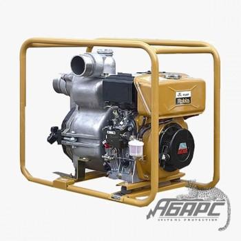 Дизельная мотопомпа Robin-Subaru PTD 405 T для сильнозагрязненной воды с твердыми частицами