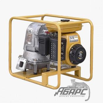 Диафрагменная бензиновая мотопомпа Robin-Subaru PTG 208 D для густых и вязких жидкостей