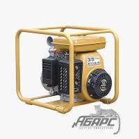 Бензиновая мотопомпа Robin-Subaru PTG 208 ST для сильнозагрязненной воды с твердыми частицами