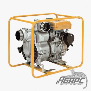 Бензиновая мотопомпа Robin-Subaru PTV 406 T для сильнозагрязненной воды с твердыми частицами