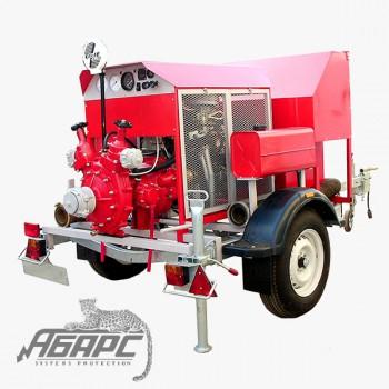 Мотопомпа бензиновая СПМЗ МП20/80 прицепная