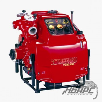 Мотопомпа бензиновая TOHATSU VC82ASE высоконапорная (пожарная)
