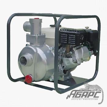 Мотопомпа бензиновая MATSUSAKA QP-207 для чистой и слабозагрязненной воды