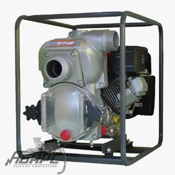 Мотопомпа бензиновая MATSUSAKA QP-301TH для сильнозагрязненной воды