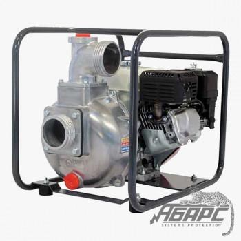 Мотопомпа бензиновая MATSUSAKA QP-205 для чистой и слабозагрязненной воды