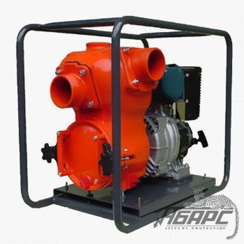 Мотопомпа дизельная MATSUSAKA QP-40TD для сильнозагрязненной воды