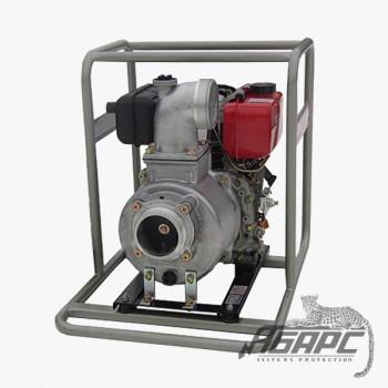 Мотопомпа дизельная YANMAR YDP40STE-E для воды средней загрязненности