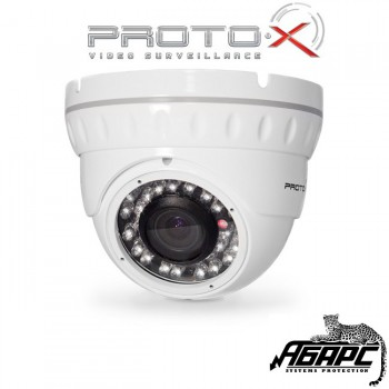 Видеокамера антивандальная цветная с ИК Proto-L02V212IR (Proto-X)