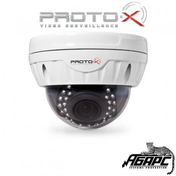 Видеокамера антивандальная цветная с ИК Proto-V01V212IR (Proto-X)