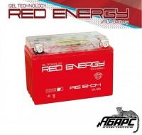 Гелевая аккумуляторная батарея RED ENERGY RE 1204 (с встроенным показателем заряда)