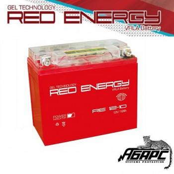 Гелевая аккумуляторная батарея RED ENERGY RE 1210 (с встроенным показателем заряда)