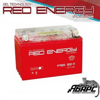 Гелевая аккумуляторная батарея RED ENERGY RE 1211 (с встроенным показателем заряда)