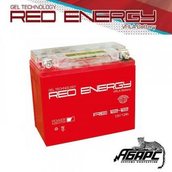 Гелевая аккумуляторная батарея RED ENERGY RE 1212 (с встроенным показателем заряда)