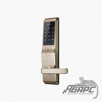 Электронный кодовый замок Samsung SHS-H705 FBG/EN (5230) с ручкой, врезной
