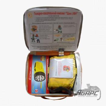 Самоспасатель фильтрующий Шанс 3ФН (маска с накидкой и фонарем)