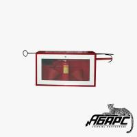 Щит пожарный металлический открытый (реечный)  без комплекта