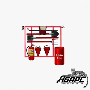Щит пожарный комплектный типа ЩП-Е с бочкой (ПЖТ)