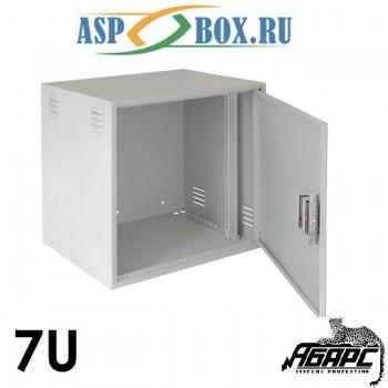 Шкаф монтажный настенный BNP4007.1 (7U)