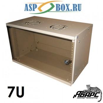 Шкаф монтажный настенный BNP4007 (7U)