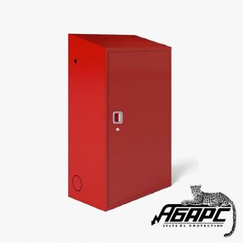 Шкаф ТМ-4 под два газовых баллона на 50л (красный) ПЖК