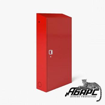 Шкаф ТМ-8 для трех газовых баллонов на 50л (красный) ПЖК
