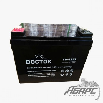 Аккумуляторная батарея Восток СК-1233 (33 Ач, 12 В)