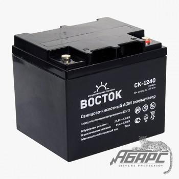 Аккумуляторная батарея Восток СК-1240 (40 Ач, 12 В)
