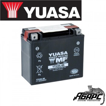 Аккумуляторная гелиевая батарея YUASA YTX20L-BS