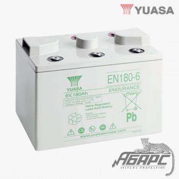 Аккумуляторная батарея Yuasa EN 180-6 (180 Ач, 6 В)