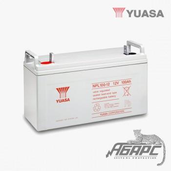 Аккумуляторная батарея Yuasa NPL 100-12 (100 Ач, 12 В)