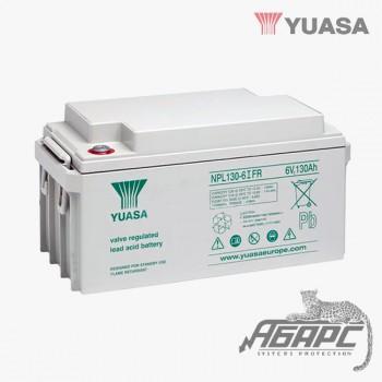 Аккумуляторная батарея Yuasa NPL 130-6IFR (130 Ач, 6 В)