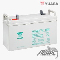 Аккумуляторная батарея Yuasa NPL 200-6 (200 Ач, 6 В)