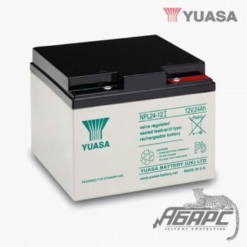 Аккумуляторная батарея Yuasa NPL 24-12I (24 Ач, 12 В)