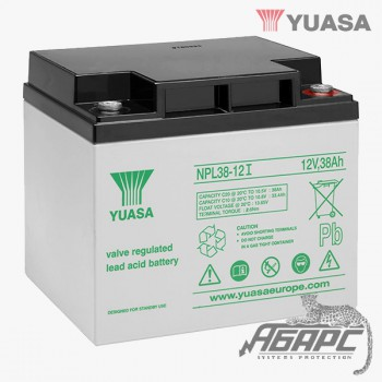 Аккумуляторная батарея Yuasa NPL 38-12I (38 Ач, 12 В)