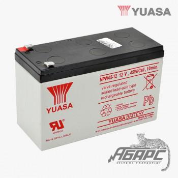 Аккумуляторная батарея Yuasa NPW 45-12 (8,5 Ач, 12 В)