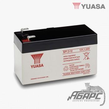 Аккумуляторная батарея Yuasa NP 1.2-12 (1,2 Ач, 12 В)