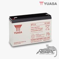 Аккумуляторная батарея Yuasa NP 12-6 (12 Ач, 6 В)