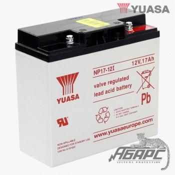 Аккумуляторная батарея Yuasa NP 17-12I (17 Ач, 12 В)