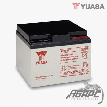 Аккумуляторная батарея Yuasa NP 24-12I (24 Ач, 12 В)