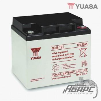 Аккумуляторная батарея Yuasa NP 38-12I (38 Ач, 12 В)