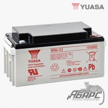 Аккумуляторная батарея Yuasa NP 65-12I (65 Ач, 12 В)