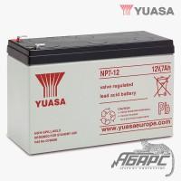 Аккумуляторная батарея Yuasa NP 7-12 (7 Ач, 12 В)