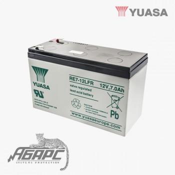 Аккумуляторная батарея Yuasa RE 7-12L (7 Ач, 12 В)