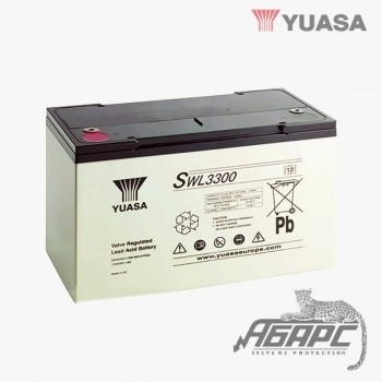 Аккумуляторная батарея Yuasa SWL 3300 (110 Ач, 12 В)