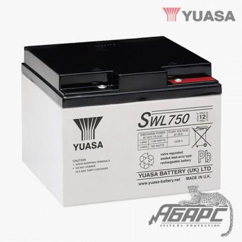Аккумуляторная батарея Yuasa SWL 750 (22,9 Ач, 12 В)