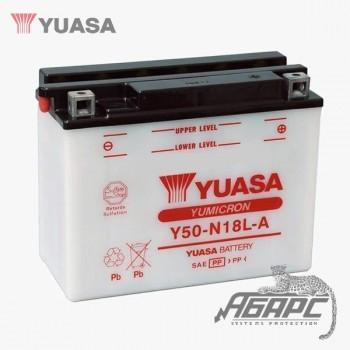 Аккумуляторная батарея Yuasa Y50-N18L-A (20 Ач, 12 В)