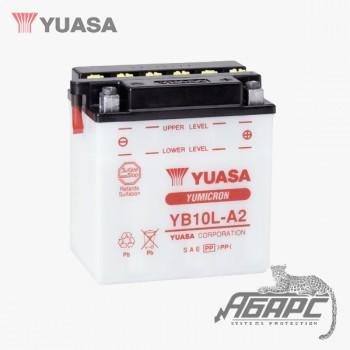 Аккумуляторная батарея Yuasa YB10L-A2 (11 Ач, 12 В) с электролитом