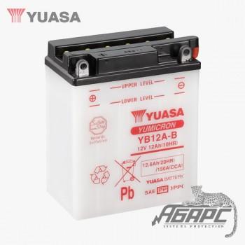 Аккумуляторная батарея Yuasa YB12A-B (12 Ач, 12 В)