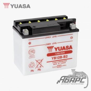 Аккумуляторная батарея Yuasa YB12B-B2 (12 Ач, 12 В)
